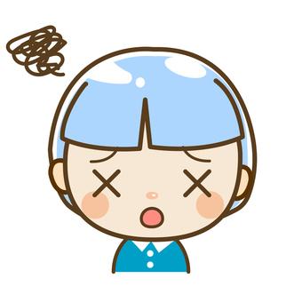 Little boy is useless ~