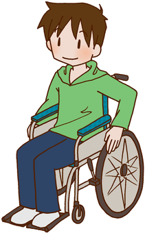 Wheelchair / wheelchair / disabled / injured