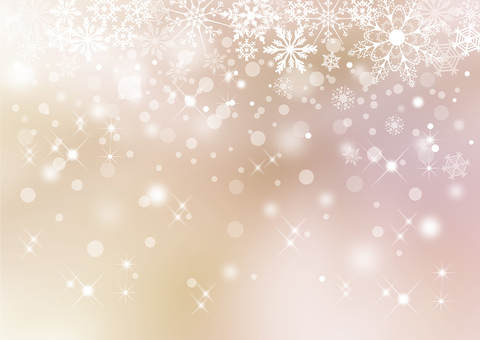 Snow crystal _ pale background