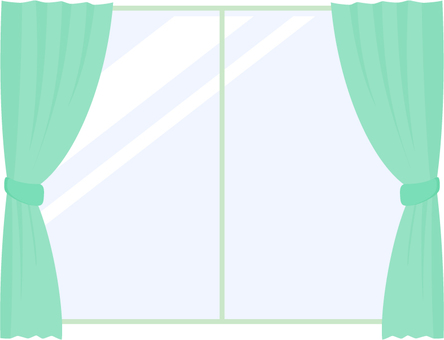 Curtain _ Green