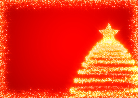 Christmas background _ Red