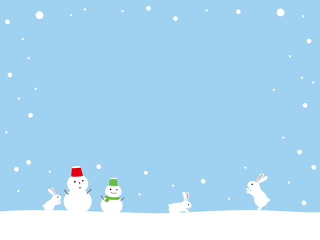 Snow Obsessional and Snowman's Winterscape
