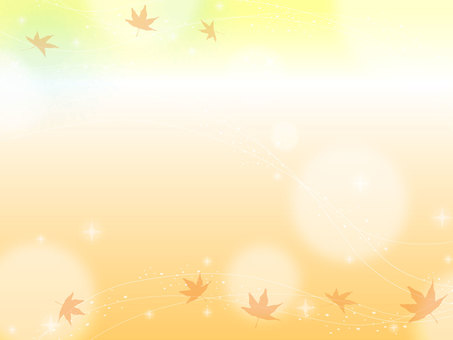 Autumn sparkling background