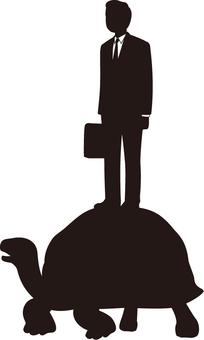 Businessman Silhouette (Galapagosatization)