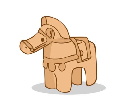 Horse's Haniwa