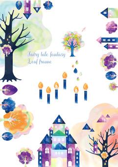 Fairy tale frame 6