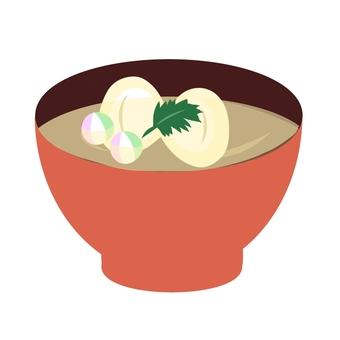 Clam soup ②