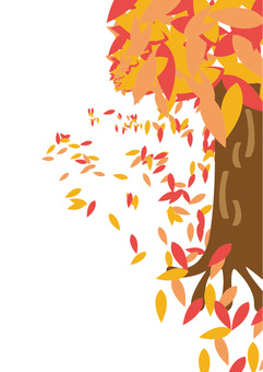 Autumn leaves background 4