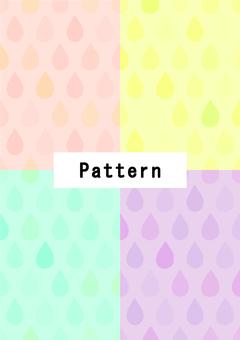 マルチドロップ(水彩風)4色