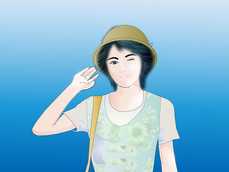 Summer lady 03
