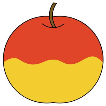 An apple with plenty of nectar