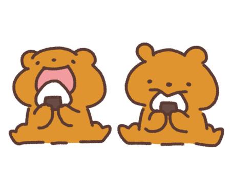 주먹밥과 곰