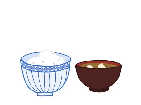 Rice Miso Soup