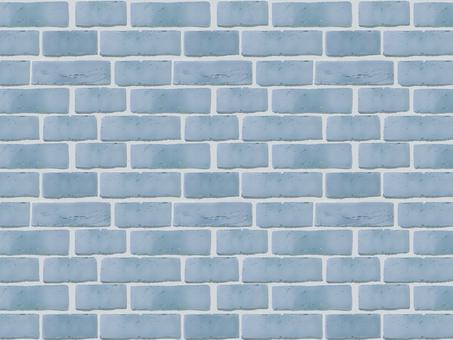 Brick wall (blue)