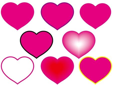 Heart set 1