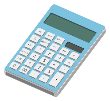 Calculator (light blue