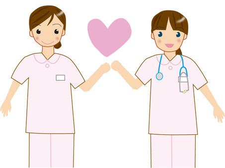 2 nurses