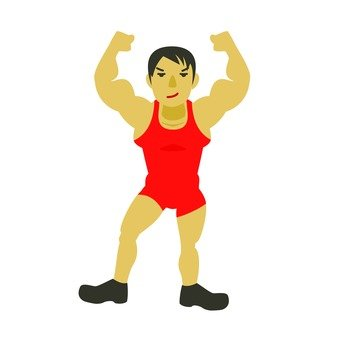Wrestling player 1