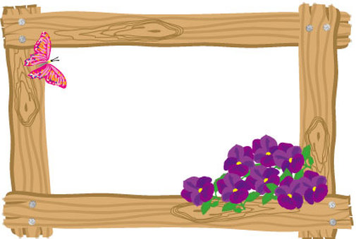 A butterfly butterfly in a picture frame of a tree and a flower of a pansy