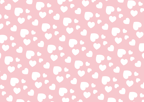 Random heart pattern (pink)