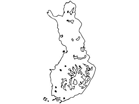 Finland terrain