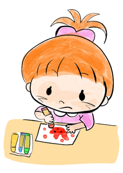 Little child _ drawing