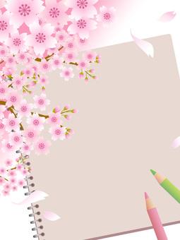 70317. Sakura and sketchbook 6
