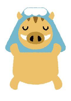 멧돼지 23_03 (후지산)