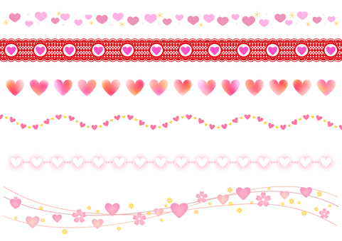 Valentine material 71