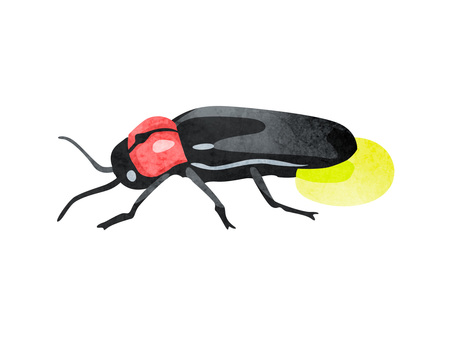 Animal_insect_firefly_watercolor