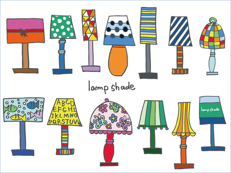Lamp shade color