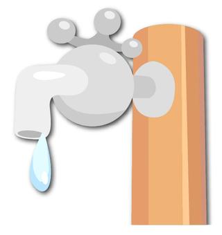 Park tap water faucet