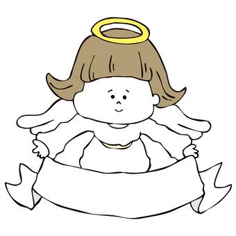 リボンと天使