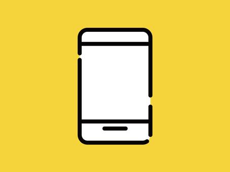 Big Icon Smartphone Mobile Phone