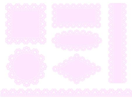 Race frame (pink)
