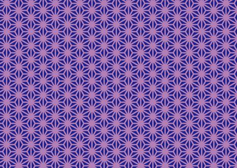 Japanese pattern (hemp leaf) 2