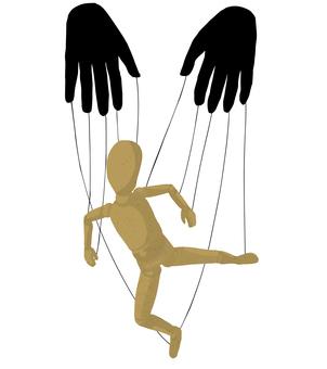 Illustration of puppet [Marionette]