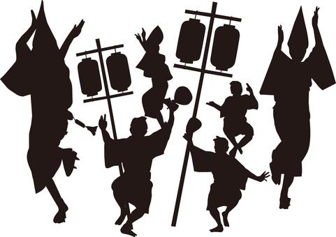 아와 오도리 · 아와 오도리 (도쿠시마) 총 춤