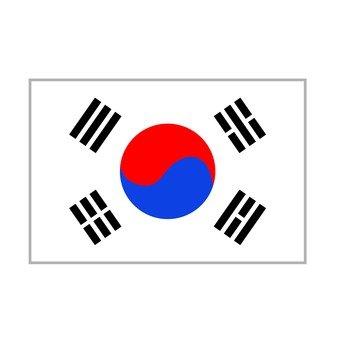National flag Korea