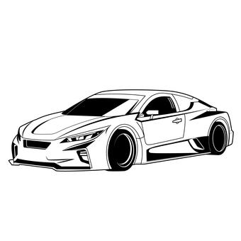 Sports car 3