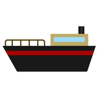 Black ship model