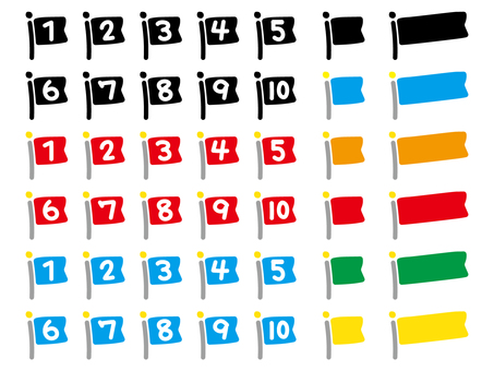 Flag numbers