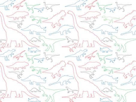 Dinosaur stitch overall pattern-01