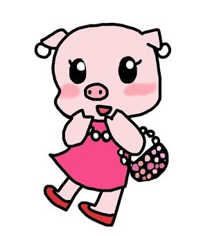 Pearls on pigs