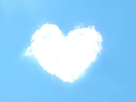Heart type cloud