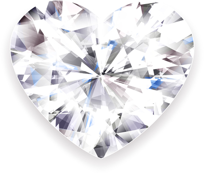 ai Heart cut diamond