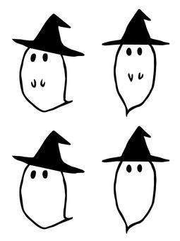 Handwritten ghosts