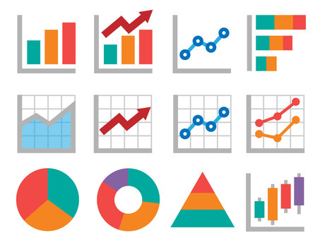 Business color icon ② _ Graph