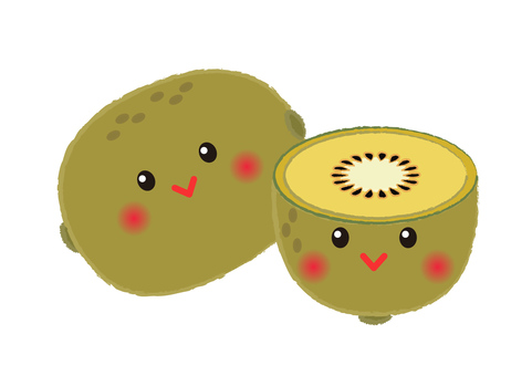 kiwi _ face kiwifruit 4