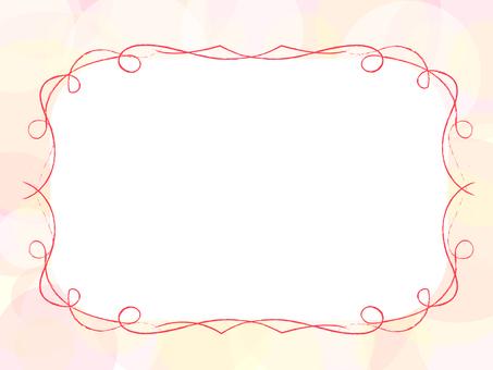 简单的框架(粉红色)